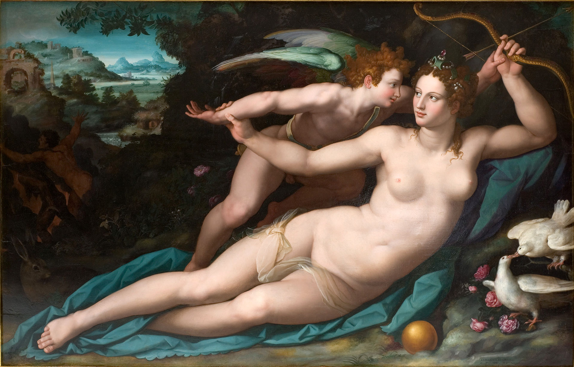 Alesandro Alori Venera i Kupidon